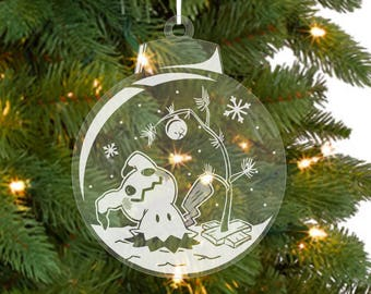 More Pokemon Christmas Ornaments (3 Styles)