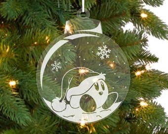 Kirby Christmas Ornament