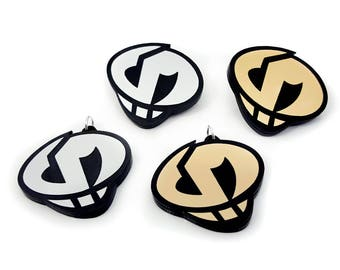 Team Skull Pins and Necklaces