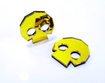 Legend of Zelda Golden Skulltula Skull Token Laser Cut