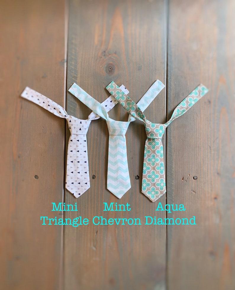Baby boy tie newborn tie infant tie Mini ties