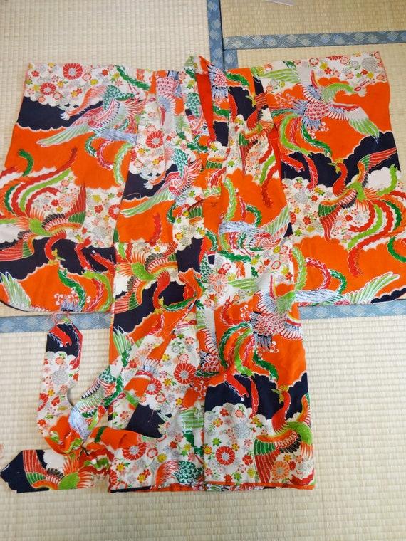 Antique Baby Girl KIMONO Fabric