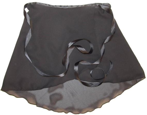 Sheer Wrap Ballet Dance Skirt: Choose Size & Color Women's S 2xl Plus by Sheer Delights
