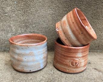 Ceramic Spice Bowl Set (3), Salt Cellar, Mise En Place, Dipping Bowl | Wheel Thrown, Stoneware