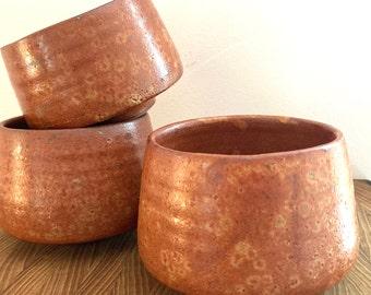 Tea Bowl, Chawan, Ceramic Bowl, Soup, Ramen, Matcha | Wheel Thrown, Stoneware