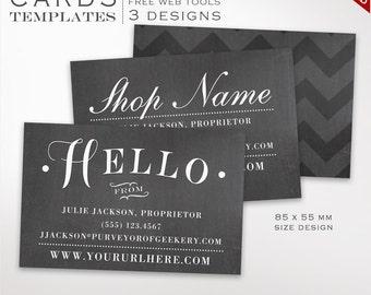 Moo business cards etsy business card template chalkboard business card design template diy printable business cards template design moo europe bceu aaa wajeb Gallery