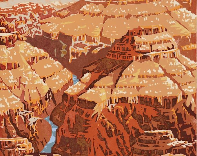 WPA Grand Canyon National Park Print