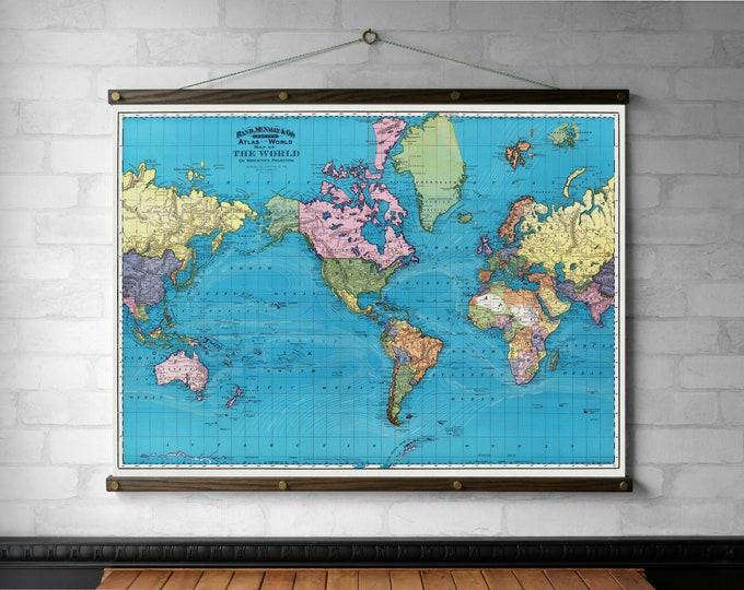 World Map 1897