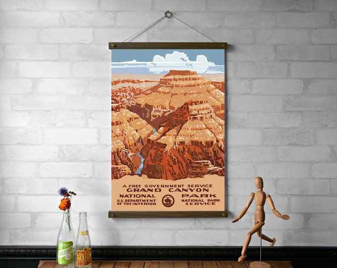 WPA Poster Grand Canyon National Park
