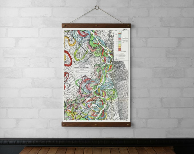 Mississippi River Map #5 Chart