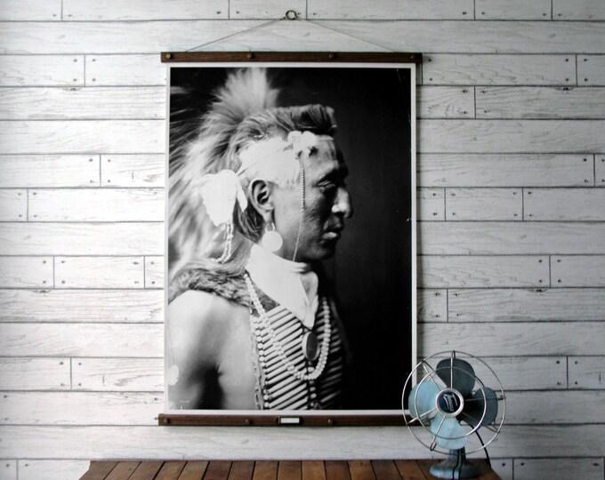 Native American Portrait ~ Antelope Cap