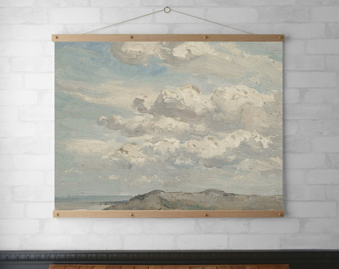 Clouds, Dunes & the Sea Landscape Tapestry
