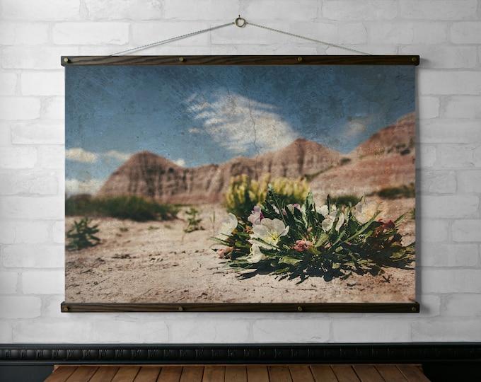 Desert Flowers Vintage Photograph
