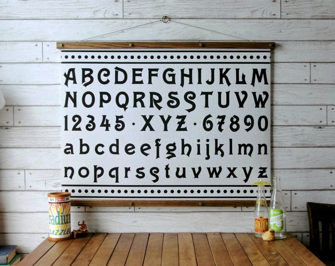 Alphabet & Numbers Chart