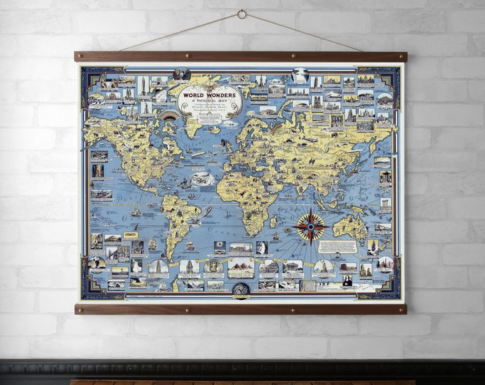 World Wonders Map