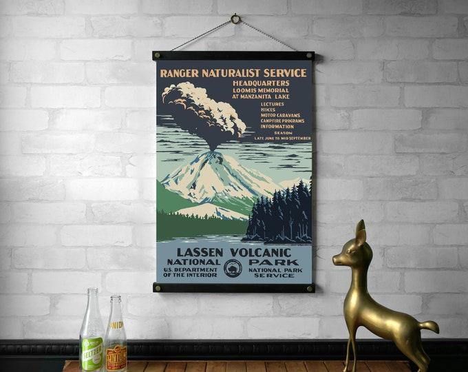 WPA Lassen Volcanic National Park