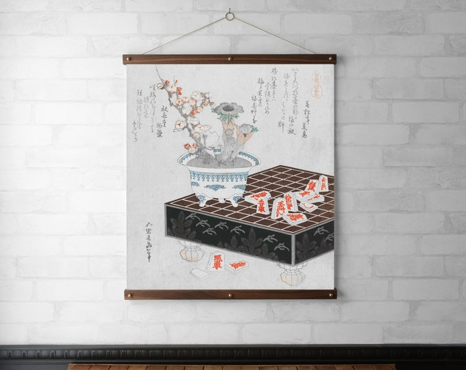 Japanese Botanical - Anemones