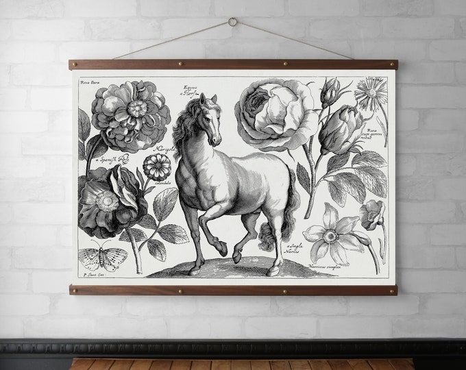 Horse & Flowers Chart