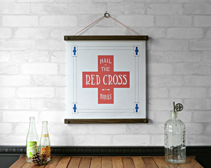 Red Cross NEW PRINT of the WEEK 20% off until Sept.15