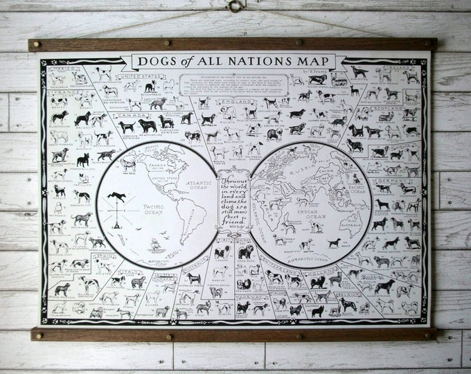Dogs of All Nations World Map