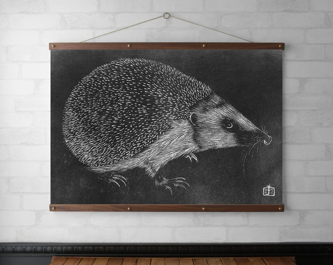 Hedgehog Wall Hanging