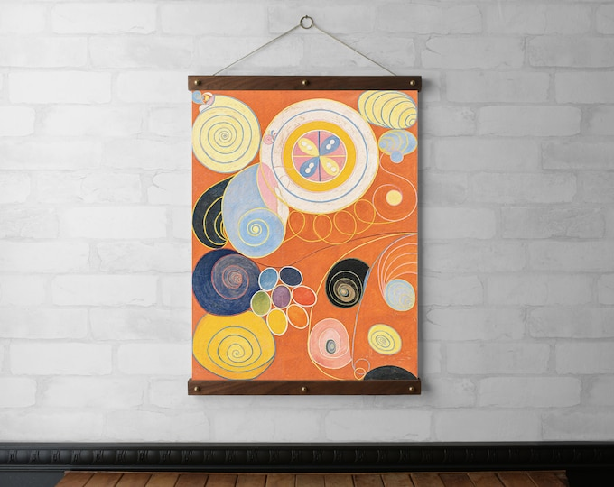 Abstract Art by Hilma af Klint | No. 3 of The Ten Largest