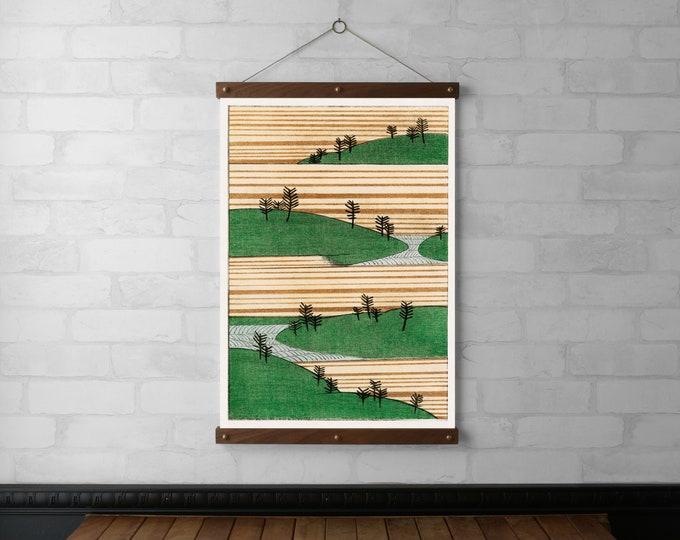 Landscape Print - Watanabe Seitei
