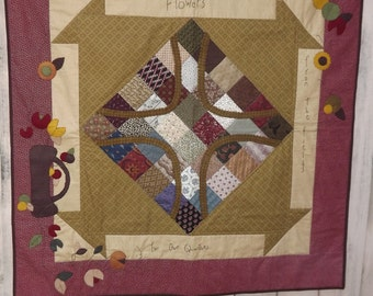 Civil War Stitchery Quilt Pattern-For Our Quarters