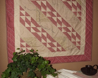 Civil War Stitchery Quilt Pattern-To Each Their Path