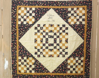 Civil War Stitchery Quilt Pattern-William Still