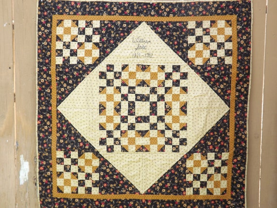 Civil War Stitchery Quilt Pattern-Pickin/' Cotton