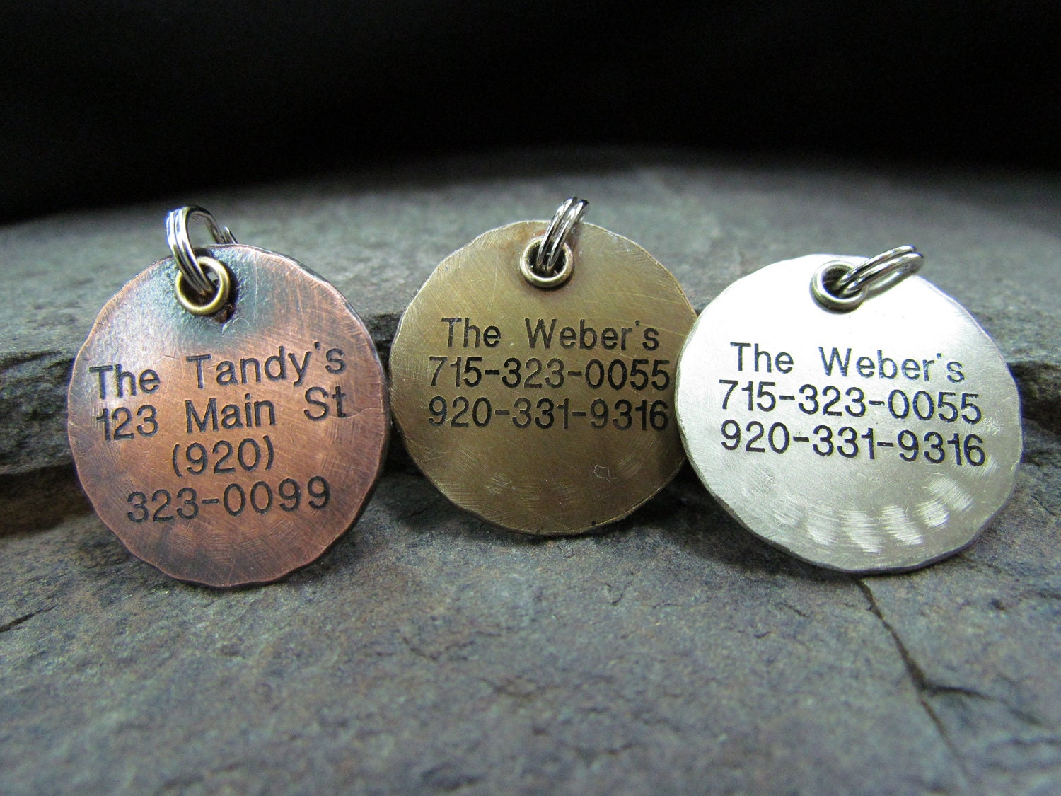 Personalized Pet Tag - Pet Accessories - Dog Tag - Dog Collar Tag - Pet ID tag - Custom pet ID tag - Engraved Pet Tag