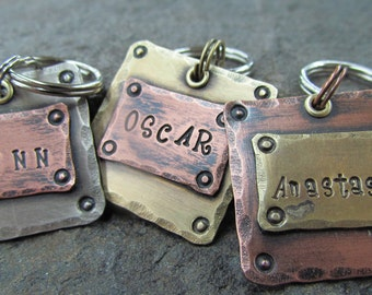 dog id tag - dog tag for dogs - pet id tag - pet tag - dog tag - pet accessory - dog tag personalized - the mad stampers