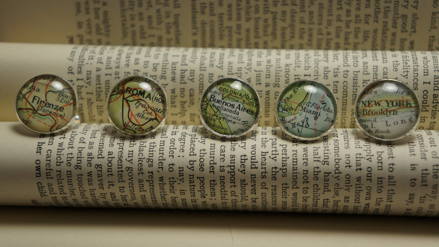 Map cufflinks custom vintage maps. Select two locations. Anywhere in the world. Wedding cufflinks. Groom. best man. groomsmen. personalised