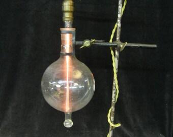 Steampunk Industrial lamp Lab Rat Freddy