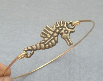 Seahorse Bangle Bracelet Style 3