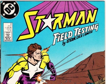 1988 Vintage Starman Number 2 November DC Comics