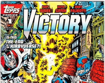 Vintage Comic Book, Victory, Number 1 of 5, 1994, TOPPS Comics
