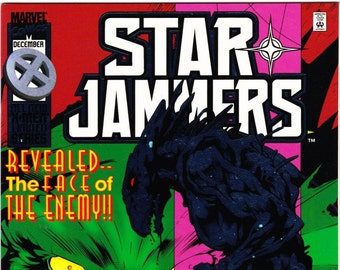 Starjammers Comic Book Volume 1 Number 3 December 1995, Marvel Comics