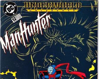 Vintage Comic Book, Manhunter, Number 12, November 1995, DC Comics