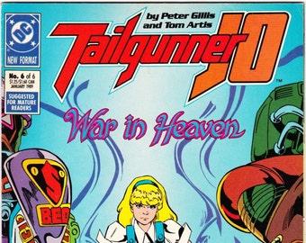 Tailgunner JO Comic Book Number 6 January 1989 DC Comics