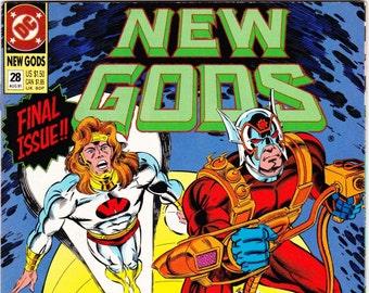 New Gods Comic Book Number 28 August 1991, DC Comics