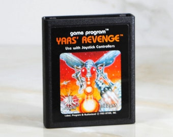 Vintage Atari 2600 Yar's Revenge Game From 1981 - Atari