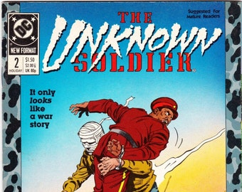 The Unknown Soldier Comic Book Number 2 Holiday 1988, DC Comics