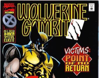 Wolverine Gambit Comic Book Volume 1 Number 4 December 1995, Marvel Comics