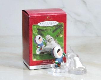 Hallmark Keepsake Ornament Frosty Friends 2000 Collectors Series 21st in the series