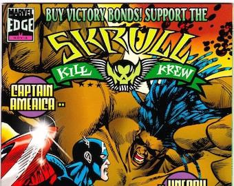 Vintage Comic Book, Skrull Kill Krew, Volume 1 Number 3, November 1995, Marvel Comics
