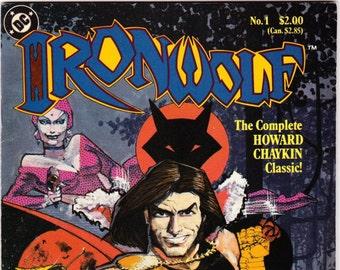 Vintage Ironwolf Number 1 1986 DC Comics