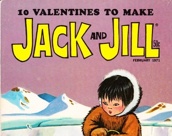 Vintage Comic Book, Jack And Jill, Number 2, February 1971, Holiday Publishing