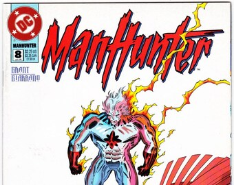Vintage Comic Book, Manhunter, Number 1, December 1988, DC Comics